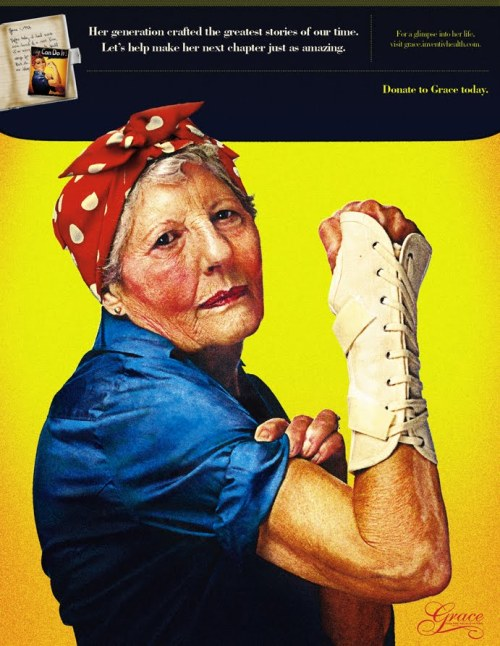 poster :: rosie the riveter